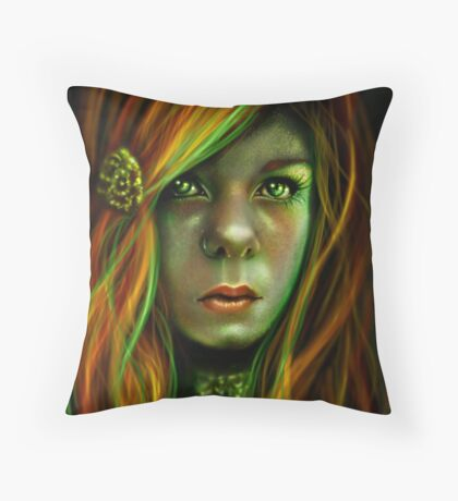 Shannon aka eleveneleven Throw Pillow