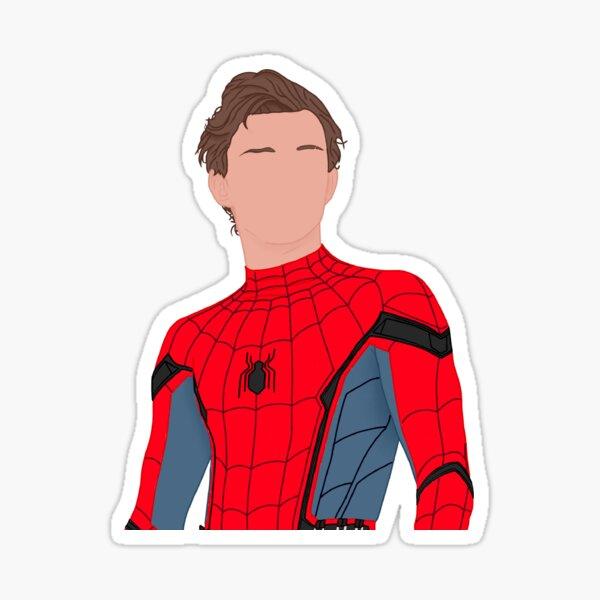 Peter Parker Desenmascarado Pegatina
