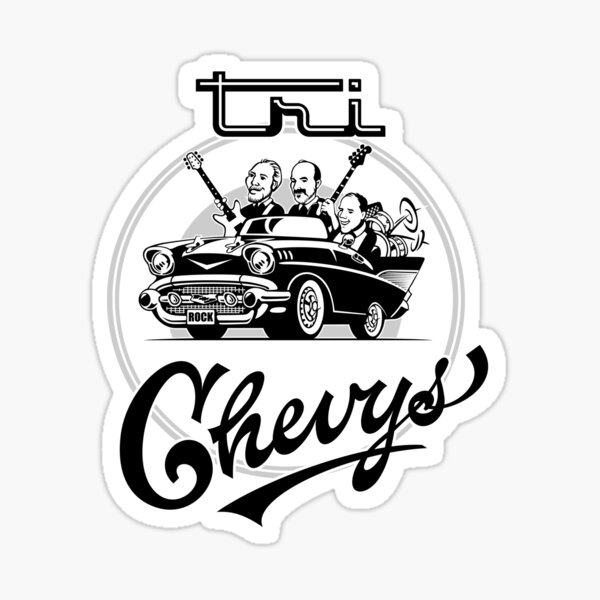 Tri Chevys Preformance Shirt Sticker
