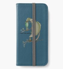 I said too much iPhone Wallet/Case/Skin