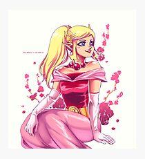 Lámina fotográfica Cherry Blossom Zelda