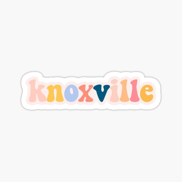 Knoxville TN Sticker