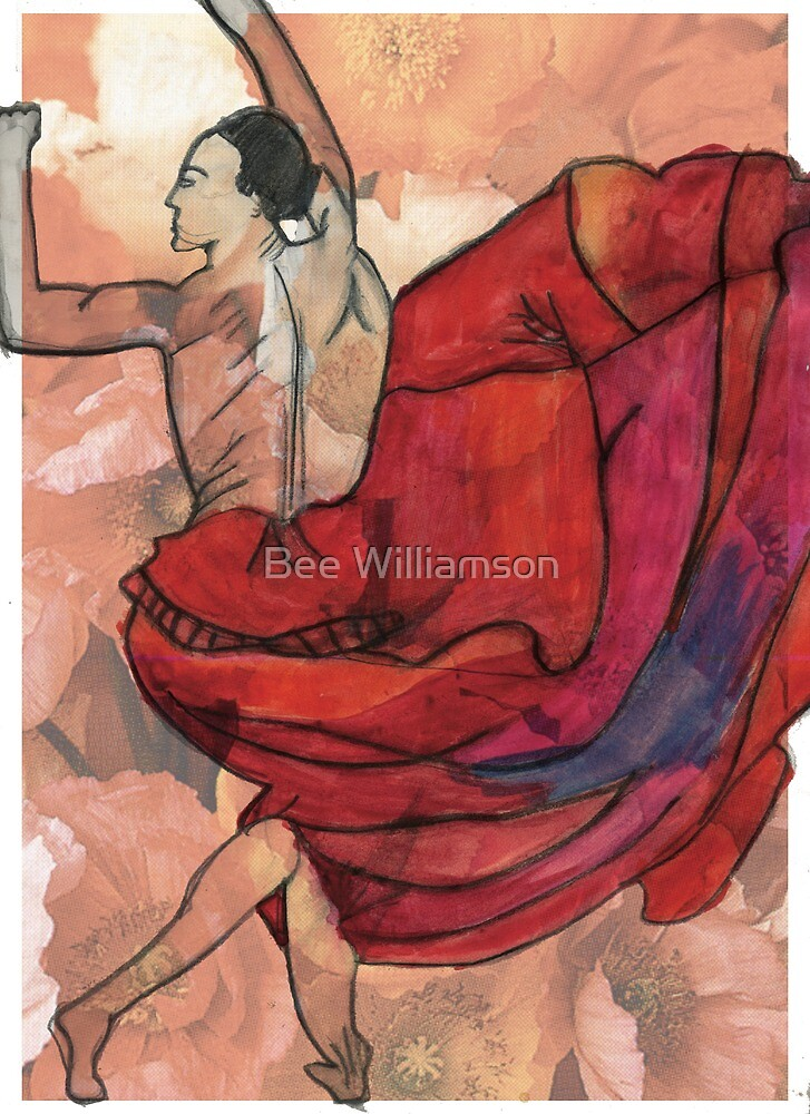 Bella dancing by Bee Williamson