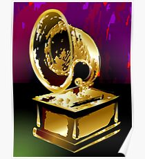 Beauty of the golden gramophone  Poster