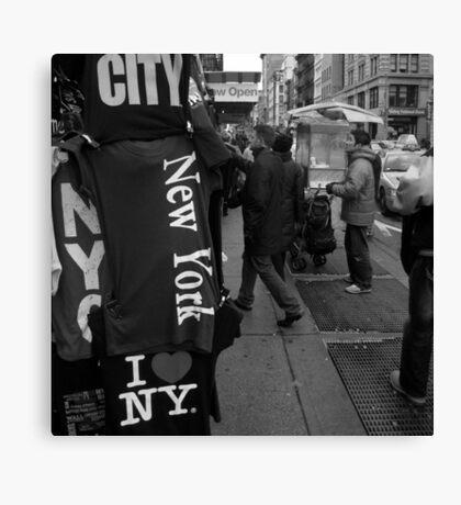 street traders, soho, nyc Canvas Print