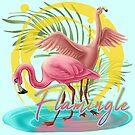 Let's Flamingle by Unicornarama