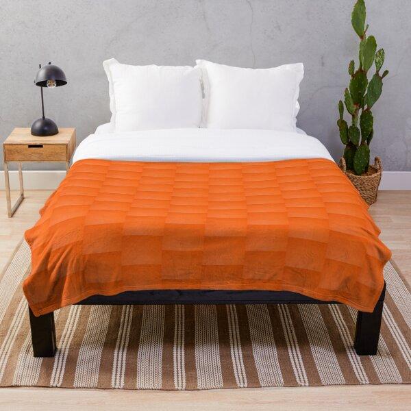 Orange Throw Blanket
