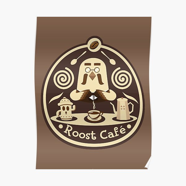 Roost Cafe Poster