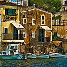 Porto Colom Majorca by Brian Tarr