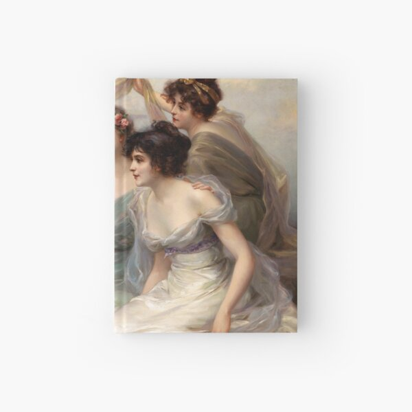 The Three Graces by Edouard Bisson Hardcover Journal
