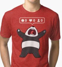 Life in a Rectangular Form Tri-blend T-Shirt