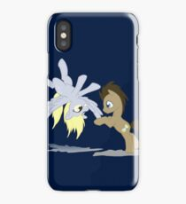 Derpy and Doctor Whooves iPhone Case