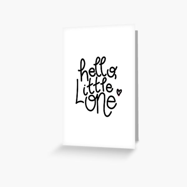 New Baby Greeting Card Greeting Card