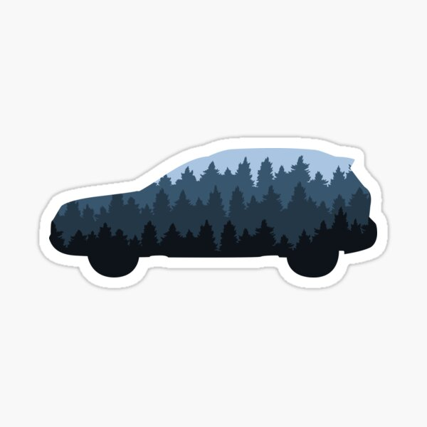 Into the Forester Sticker