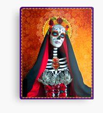 Santa Muerte Metal Print