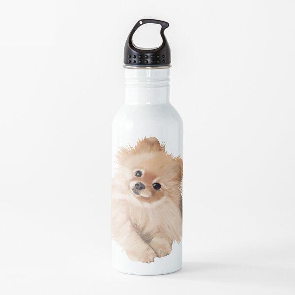 pomeranio Botella de agua