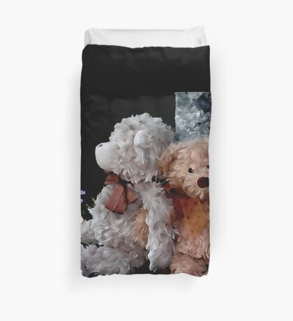 Teddy Bear Buddies Duvet Cover