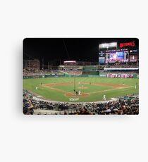 Washington Nationals Baseball Ballpark Canvas Print