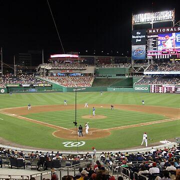 Washington Nationals Baseball Ballpark by JudsonJoyce