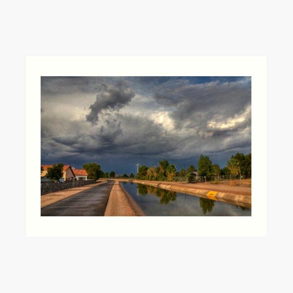 Dramatic Skies Art Print