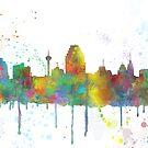 Skyline von San Antonio, Texas von Marlene Watson