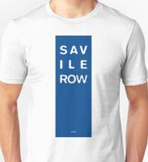 Savile Row - London Unisex T-Shirt