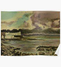 Storm approaching Portstewart, Northern Ireland Poster