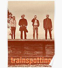 Trainspotting   Movie Scene   Boys Poster