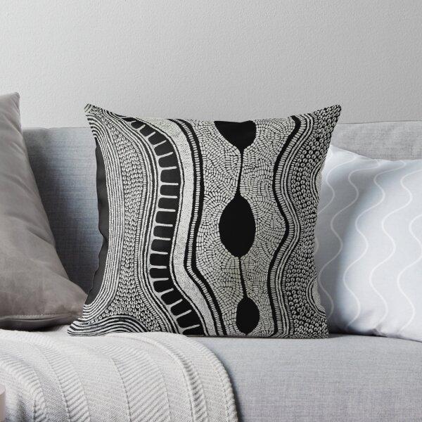 #546.3 - Turn Inward - Artist Nathalie Le Riche Throw Pillow