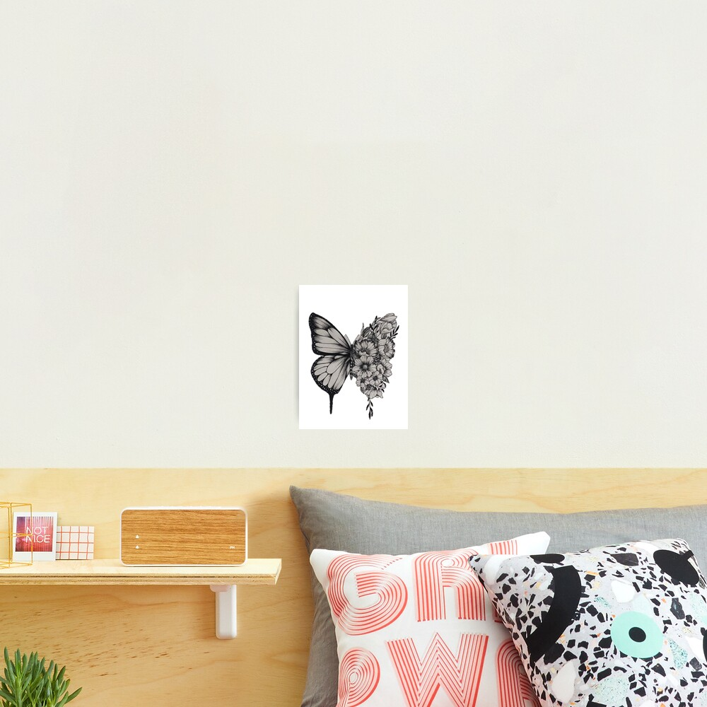 "Shawn Mendes Butterfly Tattoo: ""Butterfly Tattoo Shawn Mendes"" Photographic Print By"