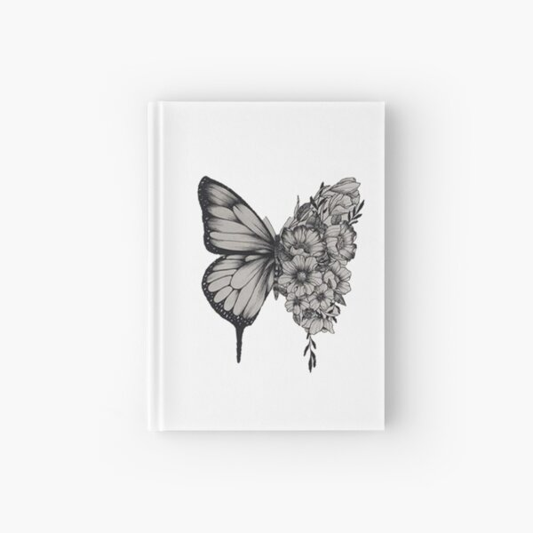 Butterfly Tattoo Shawn Mendes Hardcover Journal