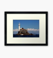 'Ireland's Teardrop' - the Fastnet Rock and lighthouse Framed Print