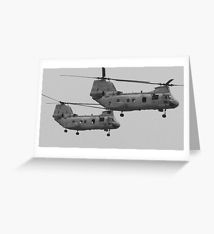 U.S. Military Helicopters Greeting Card