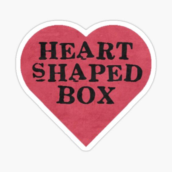 Heart Shaped Box Sticker
