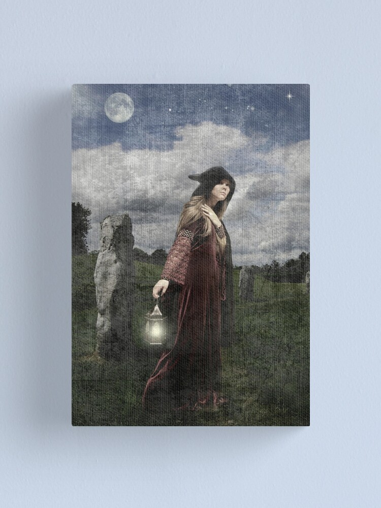 Alternate view of Hedgewitch Canvas Print