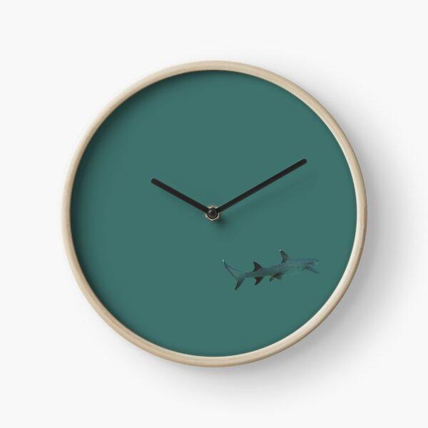Whitetip Reef Shark Clock