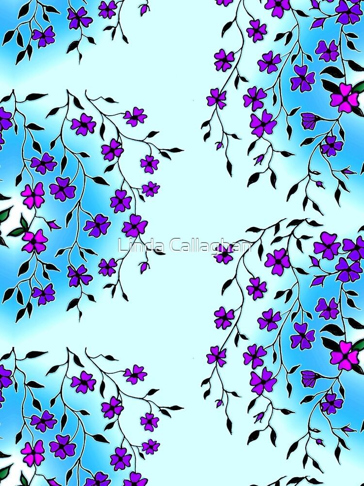 Purple Blooms  by LindArt1
