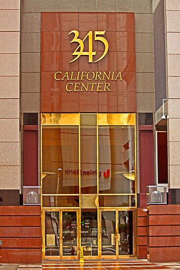 Luxurious Front Entrance in the Financial District in San Francisco by Buckwhite