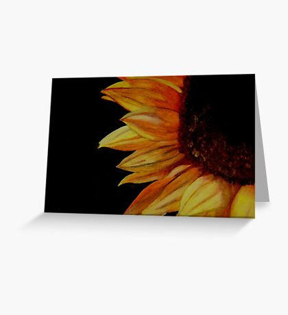A Portrait in Full Bloom Greeting Card