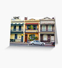 Loving Living in the Inner Suburbs Greeting Card