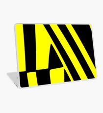 BLACK and YELLOW DAZZLE Laptop Skin
