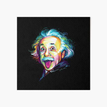 Albert Einstein Galeriedruck