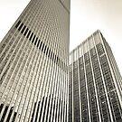 Skyscrapers in Manhattan, NYC by danwa