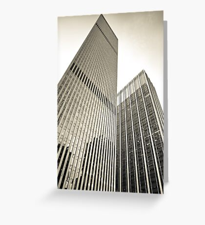 Skyscrapers in Manhattan, NYC Greeting Card