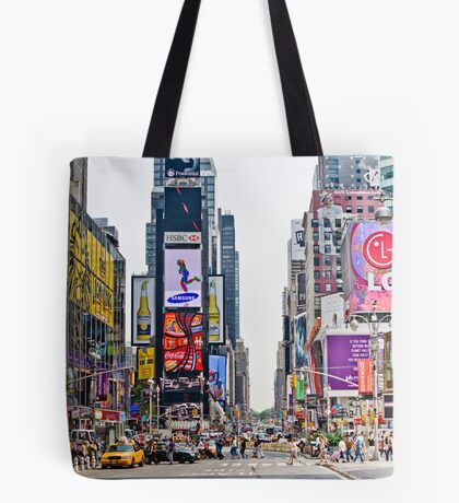 Times Square in Manhattan, NYC Tote Bag