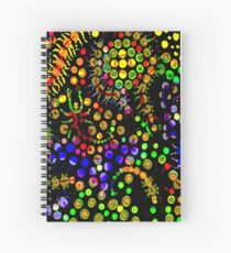 Creeping Marbles Spiral Notebook