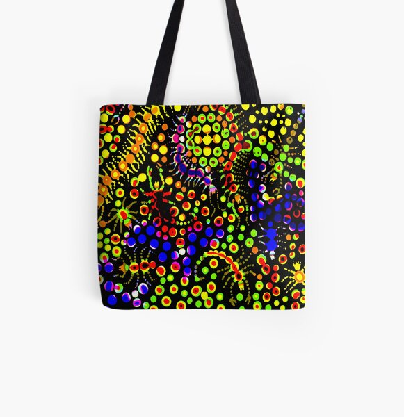 Tropical Candy All Over Print Tote Bag