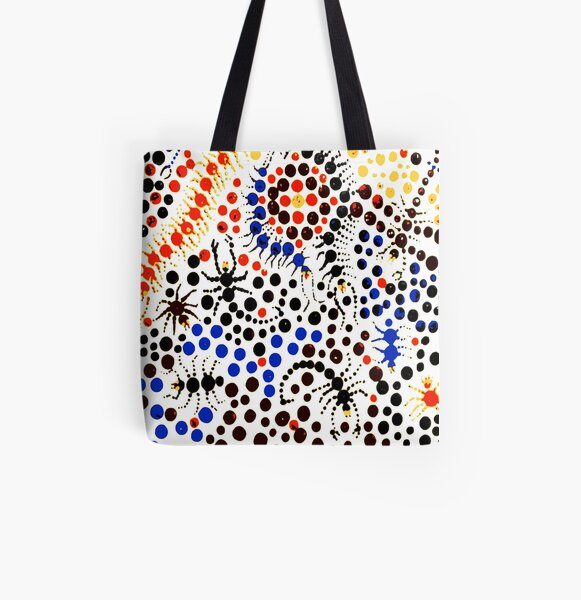 Creeping Candy  All Over Print Tote Bag