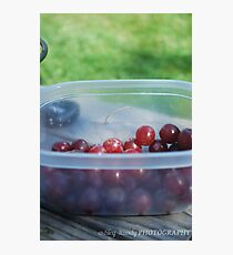Childs snack Photographic Print