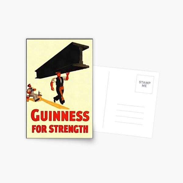 Guinness for Strength Postcard